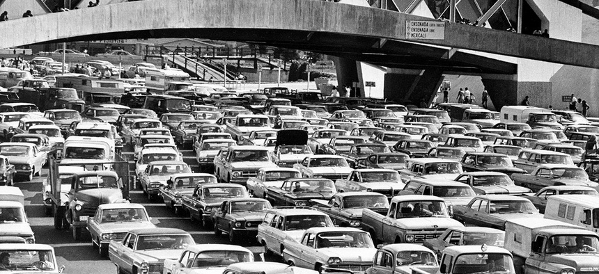 Nixon's Operation Intercept in 1969 led to massive traffic jams.
