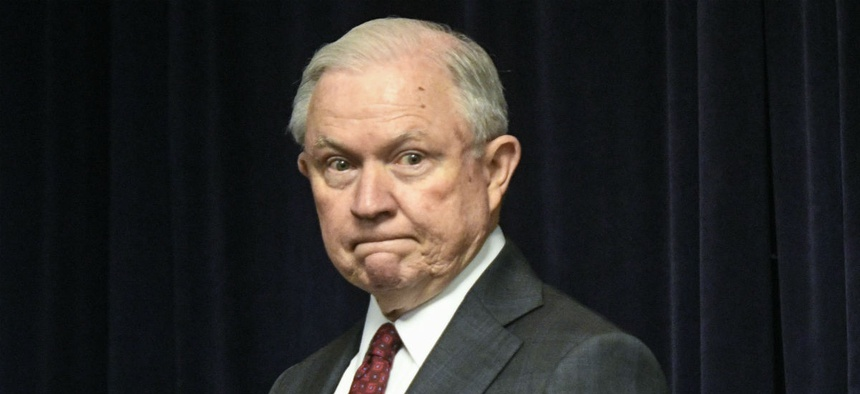 Former Attorney General Jeff Sessions placed thwarting leaks high on his agenda.