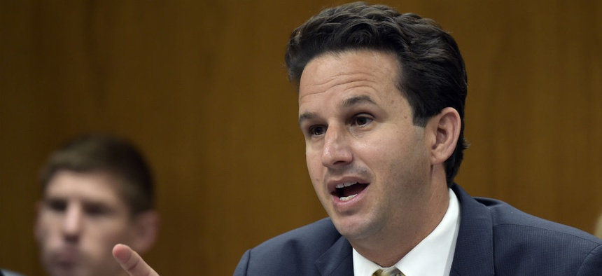 Sen. Brian Schatz, D-Hawaii, introduced the TSA employee rights bill.