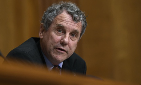 Sen. Sherrod Brown, D-Ohio, has joined in the latest effort to provide feds with paid family leave.