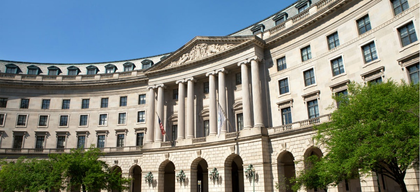 EPA headquarters in Washington.