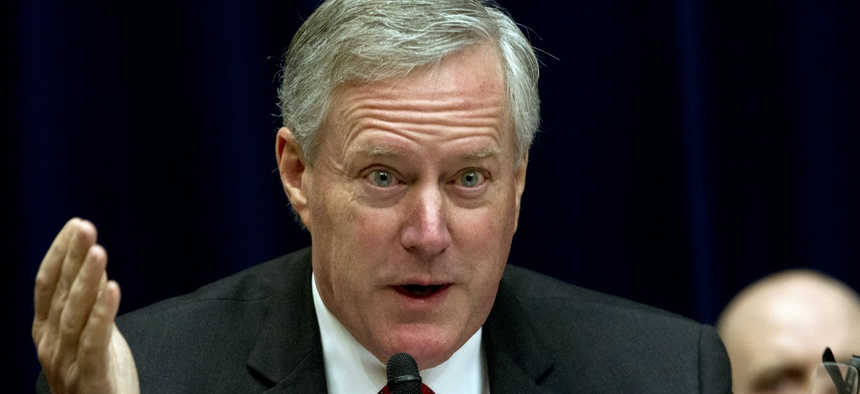 Rep. Mark Meadows, R-N.C., expressed frustration that the agency has been unable to provide Congress with a business plan.