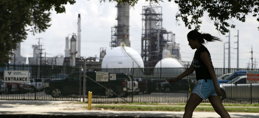 Oil refineries and other industrial sources in and around Houston create some of the highest ozone levels in the nation.