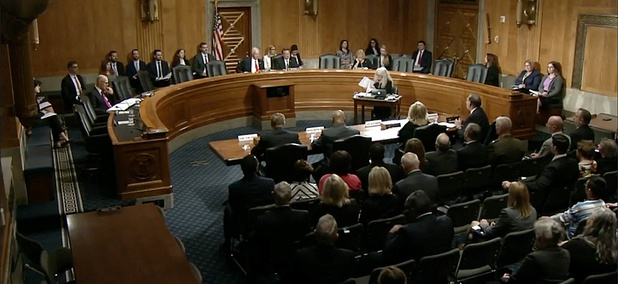 Lawmakers question OPM nominee Dale Cabaniss during her confirmation hearing.