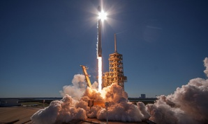The U.S. Air Force's 45th Space Wing supported SpaceX's successful launch of the KoreaSat-5A satellite aboard a Falcon 9 rocket.