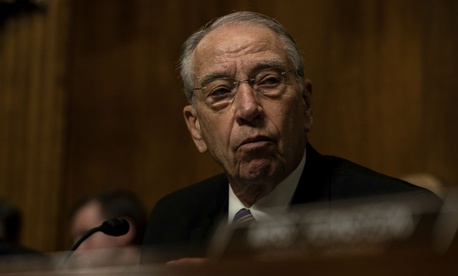 Sen. Charles Grassley, R-Iowa, sent a letter demanding accountability.