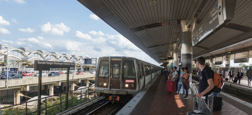Six Metro stations south of National Airport will be closed from Memorial Day through early September.