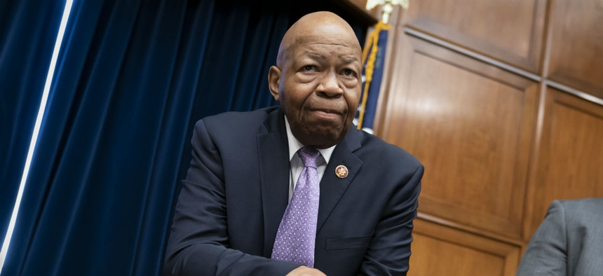 House Oversight and Reform Committee Chair Elijah Cummings, D-Md., says the Trump administration is blocking Congressional oversight activities.