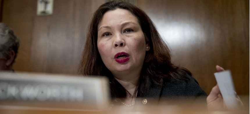 Sen. Tammy Duckworth, D-Ill., is one of the Democrats leading the inquiry.