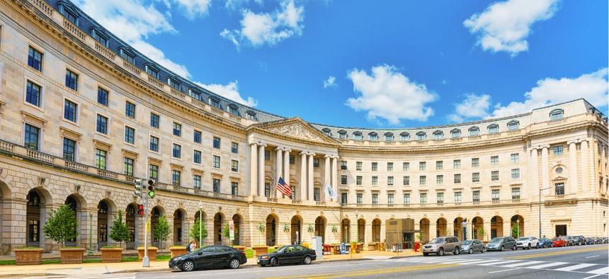 EPA headquarters in Washington.