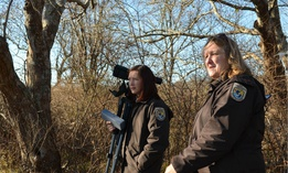 Interior Department employees with jobs that require mobile or remote work will not be affected by the new telework policies. Above, staff at the Rhode Island National Wildlife Refuge Complex.