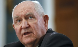Agriculture Secretary Sonny Perdue testifies before Congress in February.