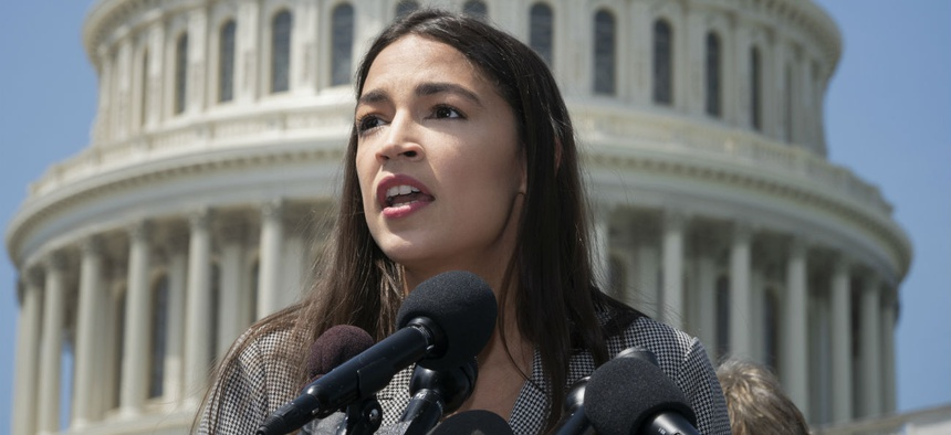 "Rep. Alexandria Ocasio-Cortez, D-N.Y., one of the lawmakers targeted by the Facebook group, said: ""This isn't about 'a few bad eggs.' This is a violent culture."""