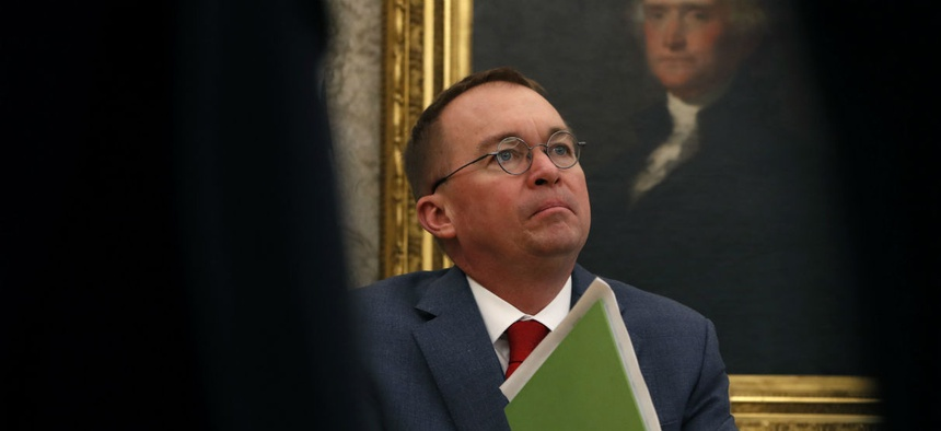 Acting White House Chief of Staff Mick Mulvaney, who is also budget director, is the highest paid member of the White House staff.