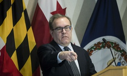 EPA Administrator Andrew Wheeler speaks at a news conference in Philadelphia in February.
