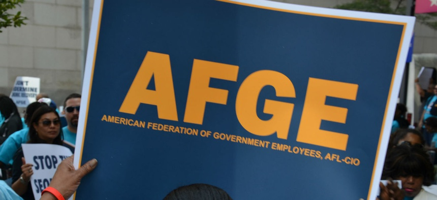 The American Federation of Government Employees and other federal employee unions are opposed to Bird's nomination and say she has improperly advised management during negotiations with VA.