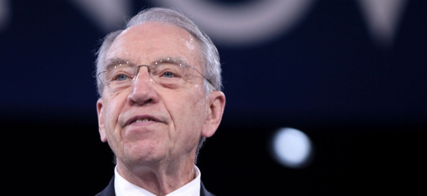 "Sen. Chuck Grassley, R-Iowa, said: ""The people's business ought to be available to the people."""