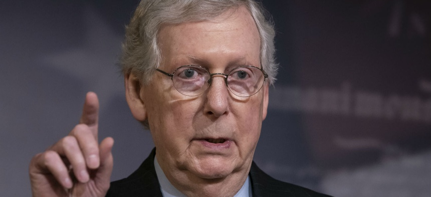 "Senate Majority Leader Mitch McConnell said: ""This is the deal President Trump is waiting and eager to sign into law."""