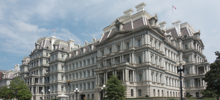 The Eisenhower Executive Office Building in Washington.