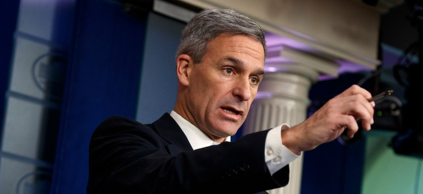 Ken Cuccinelli is quickly making a name for himself in Donald Trump's White House.
