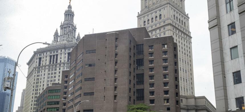 The Metropolitan Correctional Center in Manhattan, where Jeffrey Epstein took his life.