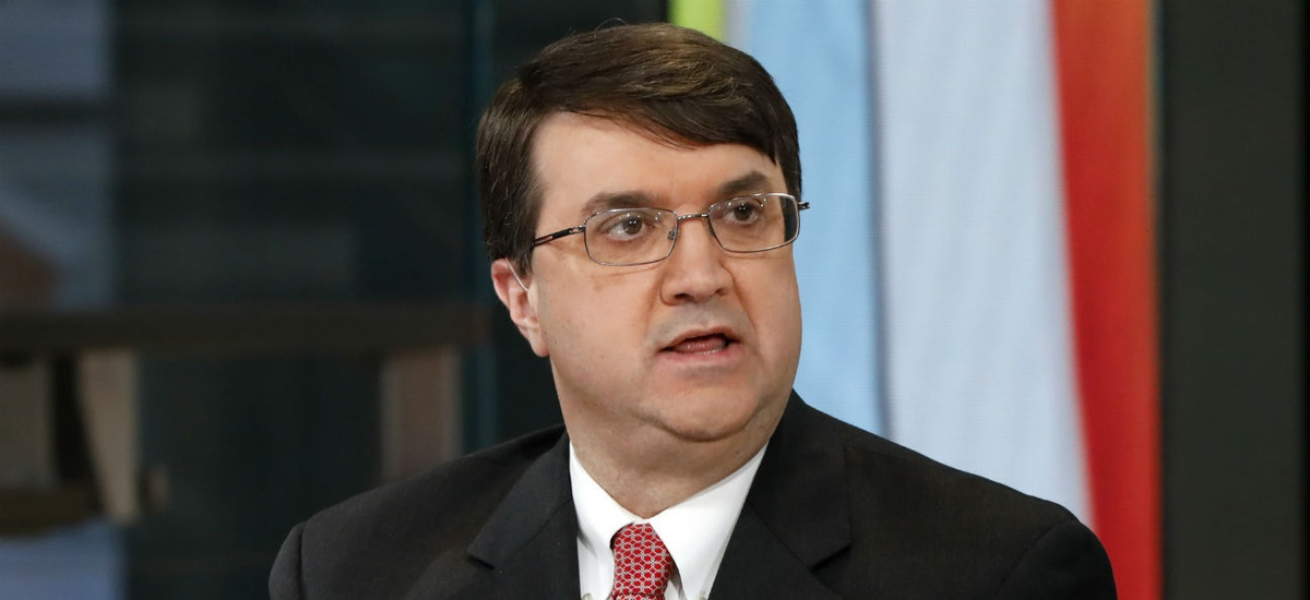 "VA Secretary Robert Wilkie said the policy change is ""consistent with our mission to promote a healthy environment for patients, visitors and employees at our facilities."""