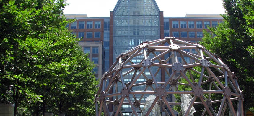 U.S. Patent and Trademark Office headquarters in Virginia.