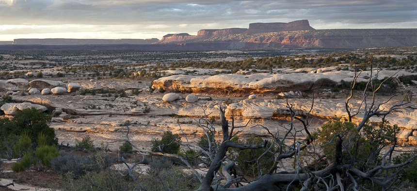 The Interior Department plans to relocate the Bureau of Land Management's headquarters to Grand Junction, Colorado, near McInnis Canyons National Conservation Area, above.