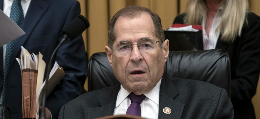 "House Judiciary Chairman Rep. Jerrold Nadler, D-N.Y., said: ""Potential violations of the Foreign and Domestic Emoluments Clauses of the Constitution are of grave concern to the committee as it considers whether to recommend articles of impeachment."""