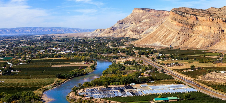The Bureau of Land Management's new headquarters will be in Grand Junction, Colorado.