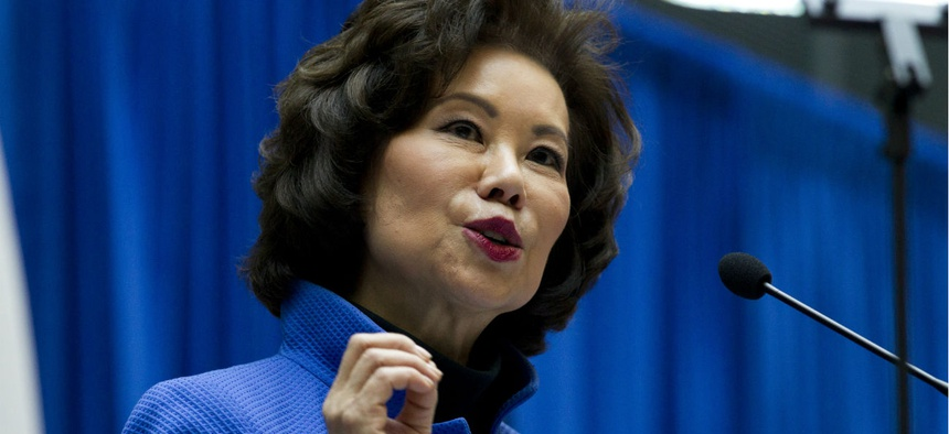 Lawmakers are exploring whether Transportation Secretary Elaine Chao has made decisions to benefit her family's shipping company.