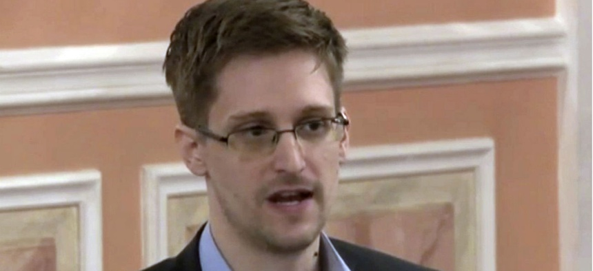 Former U.S. National Security Agency contractor Edward Snowden, who leaked classified documents detailing government surveillance programs, has been living in Russia since 2013.
