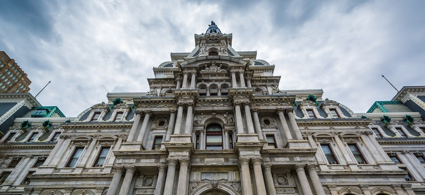 City Hall in Center City Philadelphia.