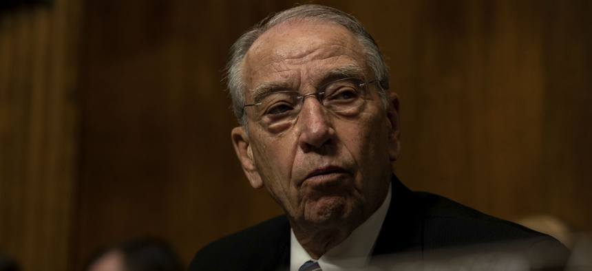 Sen. Chuck Grassley, R-Iowa, is a longtime supporter of whistleblowers.