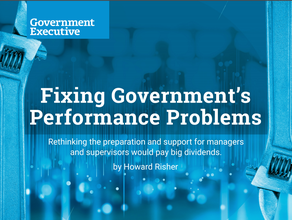 Fixing Government's Performance Problems