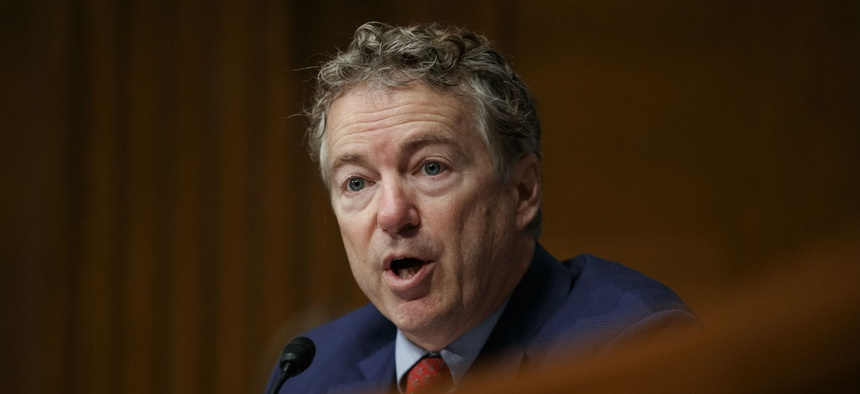 "Sen. Rand Paul, R-Ky., said: ""These are not the kind of zombies we see on the 'Walking Dead,' or what we might see on our doorsteps tomorrow evening...these zombies are scarier."""