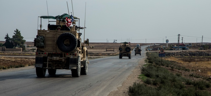 U.S. forces are still in Syria, but their role has changed substantially in recent weeks.