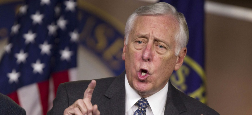 House Majority Leader Steny Hoyer, D-Md., indicated the new CR could expire in December.