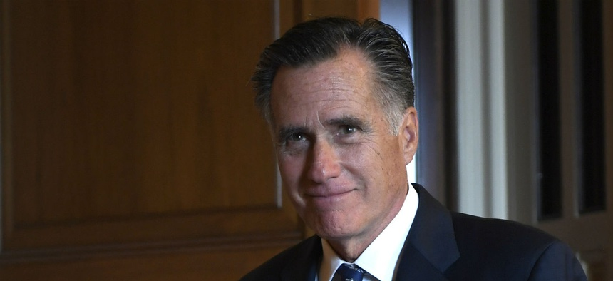 Sen. Mitt Romney, R-Utah, is one of the authors of the bill.