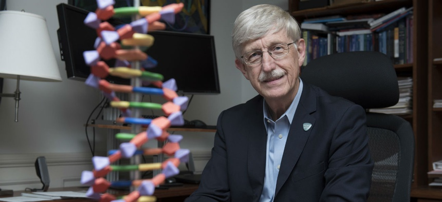 """NIH Director Francis Collins said: """"NIH will make every effort to adhere to the vision of the working group by seeking to implement the recommendations provided."""""""