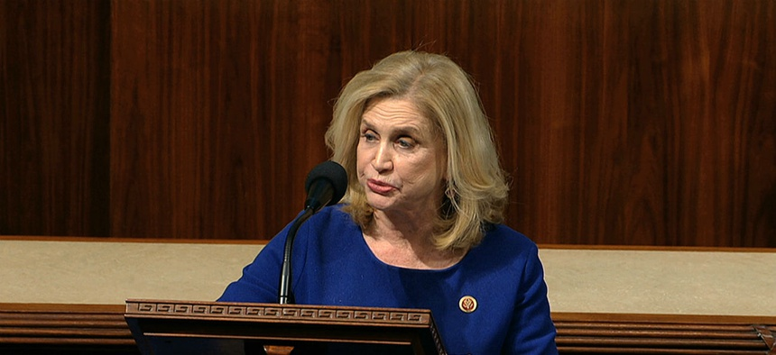 Rep. Carolyn Maloney is demanding documents from EEOC related to a proposed rule unions say will make it harder for workers to pursue discrimination complaints.
