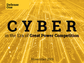 Cyber in the Era of Great Power Competition