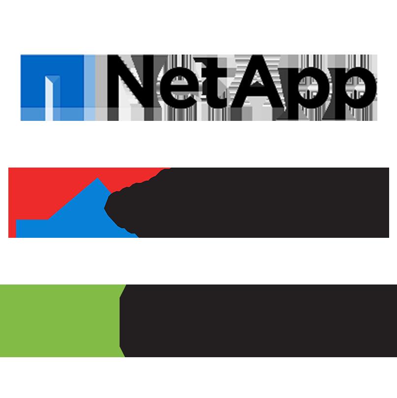 NetApp | WWT | NVIDIA's logo