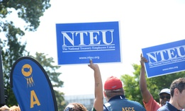 NTEU filed the suit to stop the plan from moving forward.