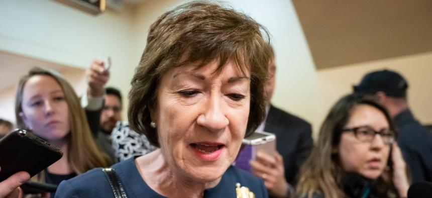 Republican Sen. Susan Collins, Maine, signed the letter.