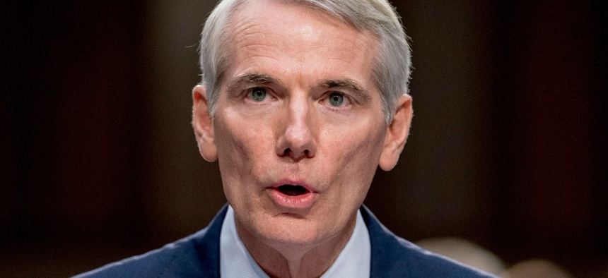 Sen. Rob Portman, R-Ohio, is one of the bill's sponsors.
