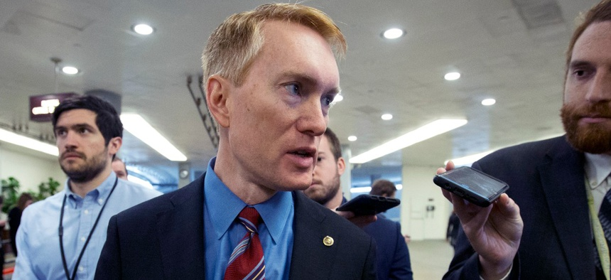 Sponsor Sen. James Lankford, R-Okla., said the bill is a commonsense measure.