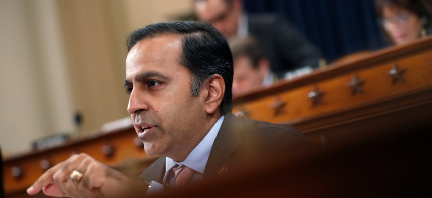 The Subcommittee on Economic and Consumer Policy, chaired by Rep. Raja Krishnamoorthi, above, is investigating whether the U.S. government is paying too much for ventilators made by a Dutch company.