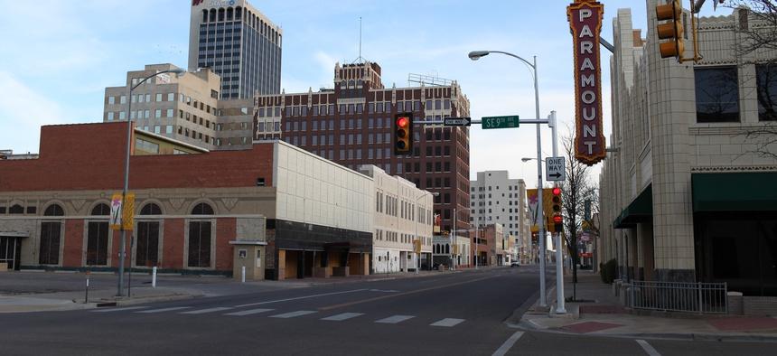 Amarillo, Texas is seen in 2009.