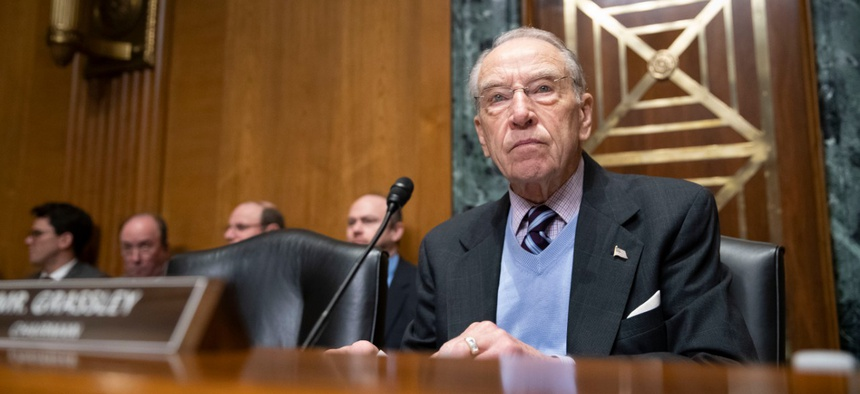 Sen. Chuck Grassley, R-Iowa, introduced a bill granting new hiring authority.